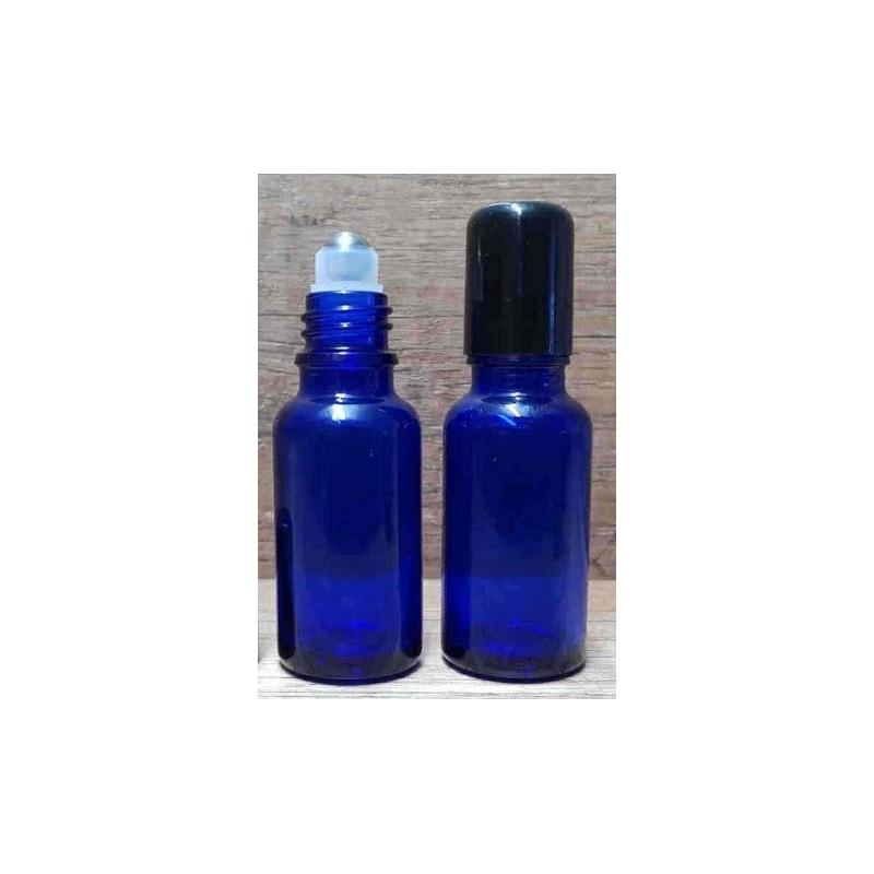 Recipient roll-on violet capac negru - 5ml