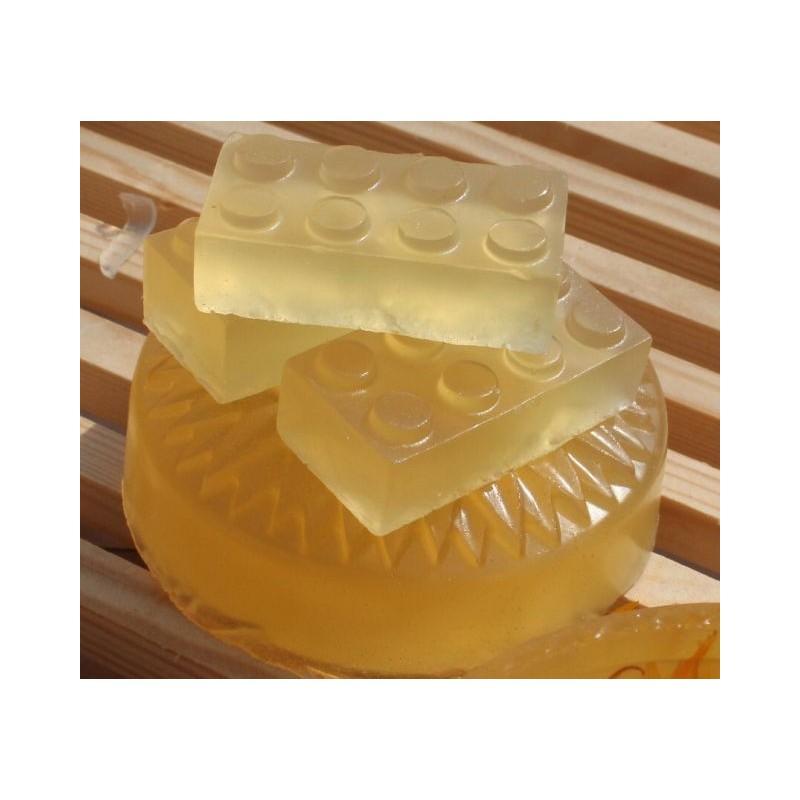 Baza de sapun prin topire si turnare transparent 465gr