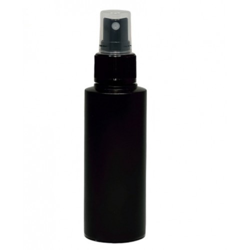Recipient spray, din plastic, negru, 100 ml